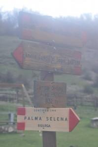 indicazioni sentiero